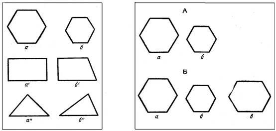 изображение геометрических фигур: